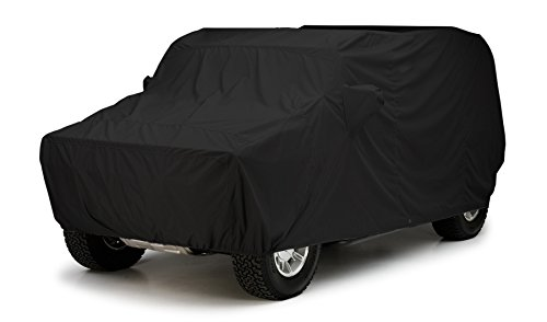 Covercraft Custom Fit Car Cover for Jeep Cherokee (WeatherShield HP Fabric, Black)