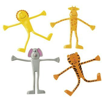 Zoo Animal Bendable Toys - Bendable Zoo