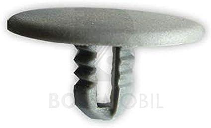 Original BOSSMOBIL kompatibel mit T/ÜRVERKLEIDUNG BEFESTIGUNG STOPFEN CLIPS KLEMMEN HELL GRAU T15 E866670#NEU# 25 X 13 X 8 mm Menge 5 St/ück