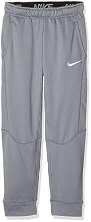 Nike Boys' Dri-FIT Fleece Pant 856168-065, Cool Grey/White, S