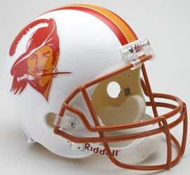 Riddell Tampa Bay Buccaneers 1976-96 Throwback Deluxe Replica Helmet