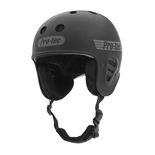 ProTec Full Cut Certified Snow Helmet - Matte Black - SM