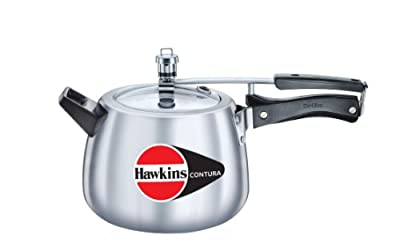 Hawkins M42 Contura Aluminum Pressure Cooker, 4-Liter by Mercantile International