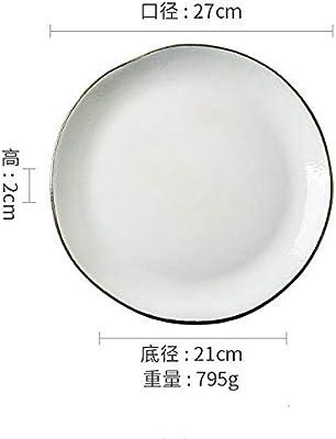 Platos de cerámica para el hogar Vajilla japonesa vajilla Horno de ...