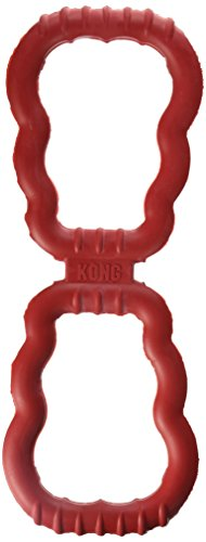 KONG Tug Toy Dog Toy, (Super Tug Rubber Toy)