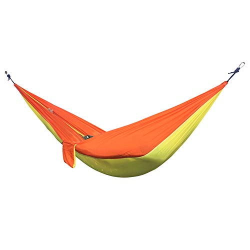 Fall In Love Outdoor Double Hammock Portable Parachute Cloth 2 Person hamaca hamak rede Garden Hanging Chair Sleeping Travel Swing hamac,Dark Gray