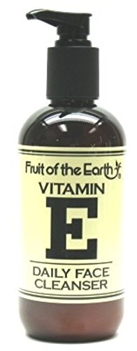 Fruit of the Earth Vitamin-E Cleanser Daily Pump 8 oz.