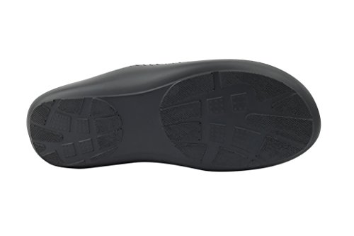 Homme de Croix en cuir véritable marron sangle bout ouvert Smart Casual glisser sur sandales Plage chaussons