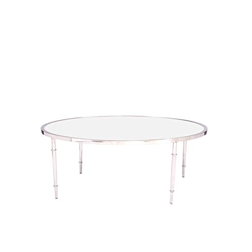 RMG Fine Imports Veris Coffee Table in Silver