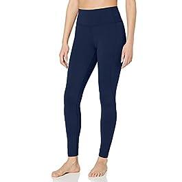 Amazon Brand – Core 10 Women's (XS-3X) 'Nearly Naked' Lightweight Non-Sheer Yoga High Waist Full-Length Legging – 28″
