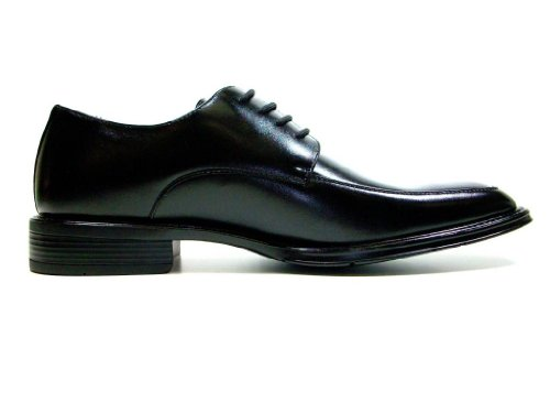 Delli Aldo Hommes 16011-noir Oxfords Carrés Classiques