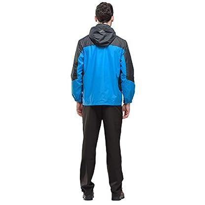 YSENTO Mens Lightweight Waterproof Jacket Windproof Outdoor Camping Hiking Mountain Jacket Coat with Hood 7