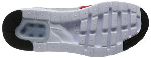 Nike Air Max 1 Mens Ultra Essenziale, Grigio Neutro / Università Rosso-bianco-nero, 8 M Di Noi