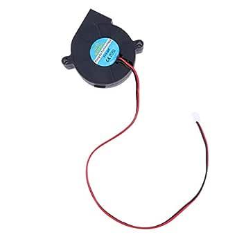 UEETEK Impresora 3D Ventilador Refrigeración 24V DC para el ...