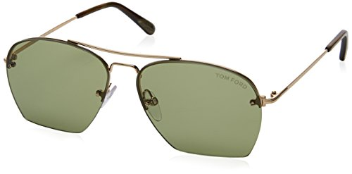 Tom Ford Women's Whelan Sunglasses, Gold, - For Kids Tom Ford