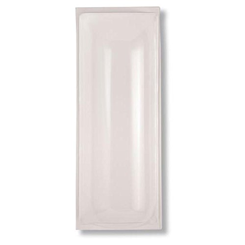Acrylic Bubble Cover, 28''H x 10 15/16''W x 5''D (2 Pack)