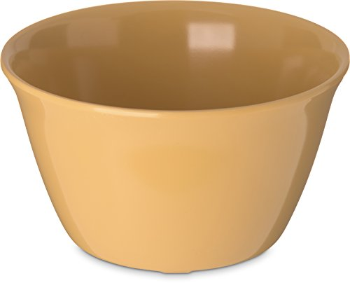 Carlisle (4354022) Bouillon Cups, Set of 24 (8-Ounce, Melamine, Honey Yellow)