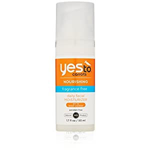 Yes To Carrots SPF 15 Fragrance-Free Daily Moisturizer, 1.7 Fluid Ounce