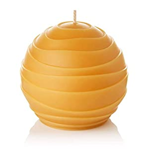 "Gut Health Shop 31e-gj72iZL._SS300_ ""Oasis"" 3.5"" Handmade Round Pure Beeswax Candle."