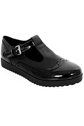 Sapphire Boutique by Sapphire , Damen Ballerinas, - Black Patent / Faux  Leather - Größe