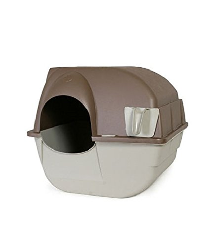 Omega Paw Self-Cleaning Litter Box - Pewter