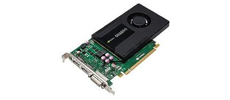 PNY NVIDIA Quadro K2000 - Tarjeta gráfica de 2 GB, negro ...