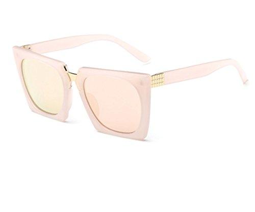 Konalla Super Oversized Retro Square Sunglasses Unisex C3 (Nerf Gun Camera Mount)