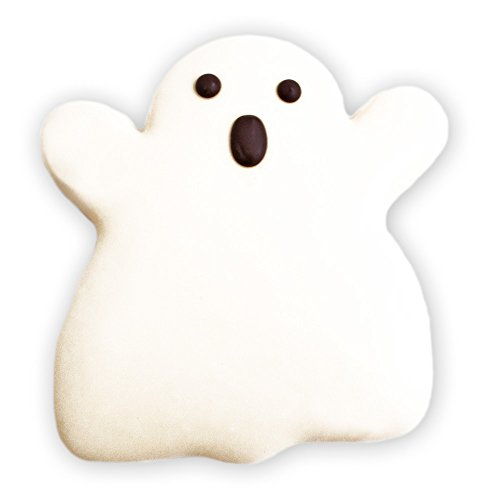 Decorated Sugar Cookies - Halloween Ghost Cookie - by Merlino Baking Co. (12 (Soft Sugar Cookies For Halloween)