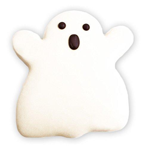 Decorated Sugar Cookies - Halloween Ghost Cookie -
