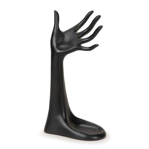 Hand Display (Darice DIY Crafts Hand Jewelry Display Stand Black 6.25 x 3.25 x 12 inches)