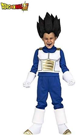 Dragon Ball Disfraz de Vegeta Peluca para niño: Amazon.es ...