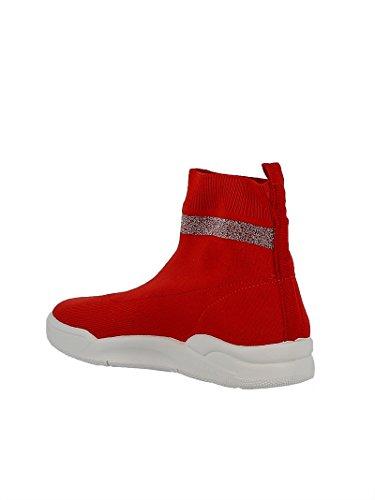 Ankle Fabric Boots Women's Ferragni CF1947 Red Chiara XPwxx
