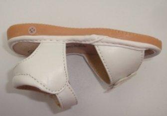 Ohmais Kinder Baby Mädchen Baby Kleinkind Schuh Leder weich Weiß