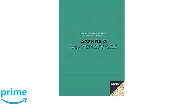 Additio P182 - Agenda G 2019-2020 mes vista para el profesorado