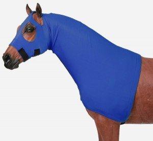 Horse Sleazy Full Separating Zipper Slicker Hood LARGE / BURGUNDY (Horse Hoods)