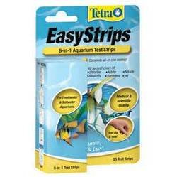 Tetra Pond Test (Tetra Pond 19542 6-In-1 EasyStrips™ Test Strips 25 Count)