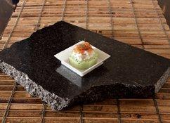 "Zappy Square Mini 2.5"" x 2.5"" Appetizer Dessert Plates - 100 Disposable Hard Plastic Petite Tasting Sample Plates"