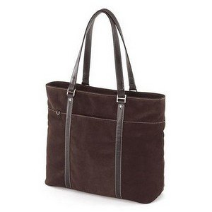 Mobile Edge Ultra Tote Chocolate Suede- 15.4-Inch PC/17-Inch Mac (METL08) by Mobile Edge