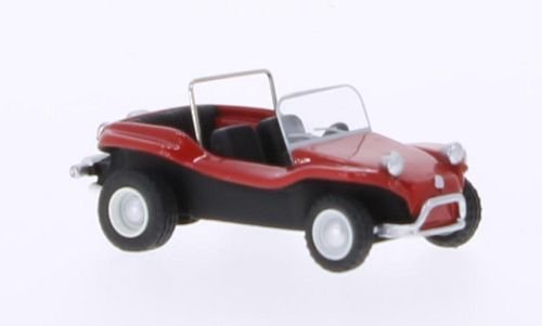 Dune Meyers Buggy Manx - Meyers Manx Dune Buggy, red, 1970, Model Car, Ready-made, BoS-Models 1:87 by Meyers Manx