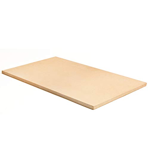 Pizzacraft PC9899 Rectangular ThermaBond Pizza Stone for Oven or Grill - 20