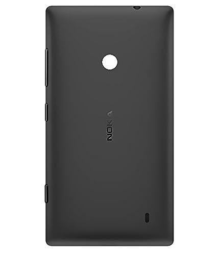 huge discount a7db8 1e382 Nokia Lumia 525 (Ron) Back Panel for Nokia Lumia 525 (Black)