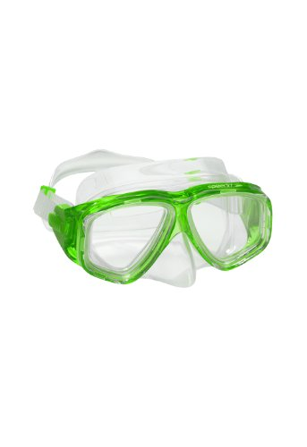 Speedo Junior Recreation Dive Mask, Green, 1SZ