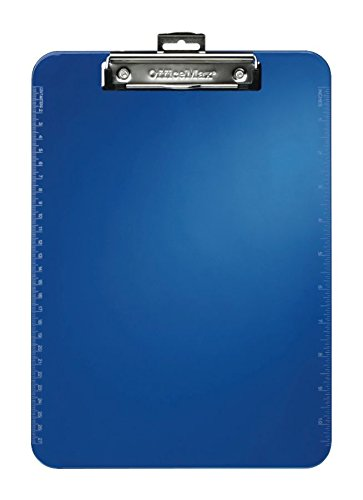 officemax-letter-size-plastic-clipboard-blue