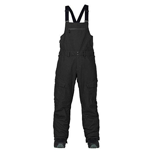 Burton 2018 Reserve Bib (True Black) Men's Snowboard Pants