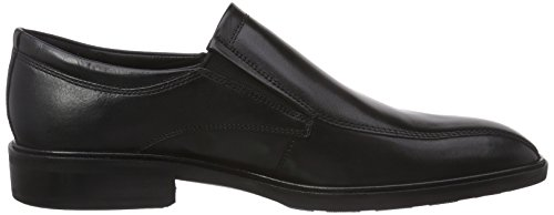 ECCO Illinois - Mocasines Hombre Negro (BLACK1001)
