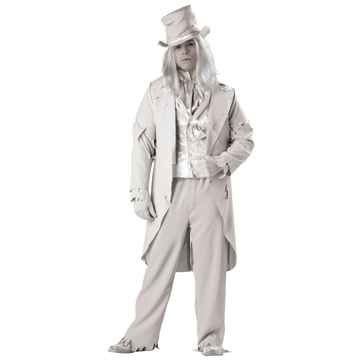 Ghostly Gent Child Costume (Ghostly Gent Costume - XX-Large - Chest Size 50-52)