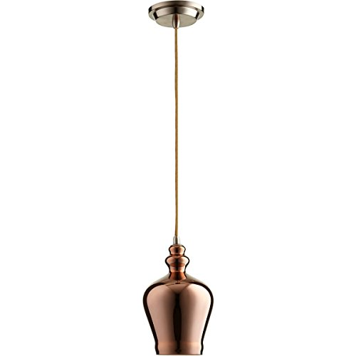 Calista Lamp - Cyan Design (07692) Calista Pendant In Satin Copper Finish