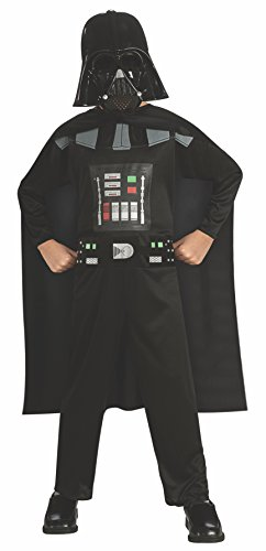 Rubie's Costume Star Wars Episode 3 Child's Darth Vader Value Costume, Medium