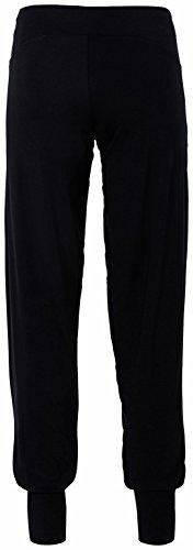 erima Feel Green - Pantalones de yoga para mujer negro - negro