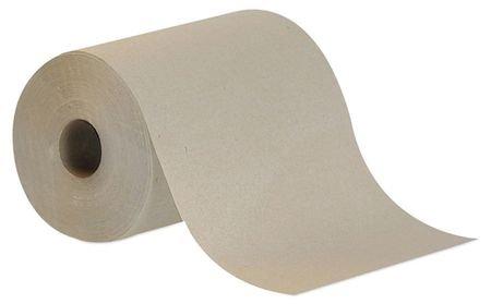 Brown Paper Towels Roll 7-7/8''W x 350'L, 12 Rolls